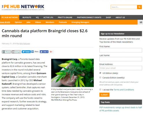 braingrid media screenshot pehub network